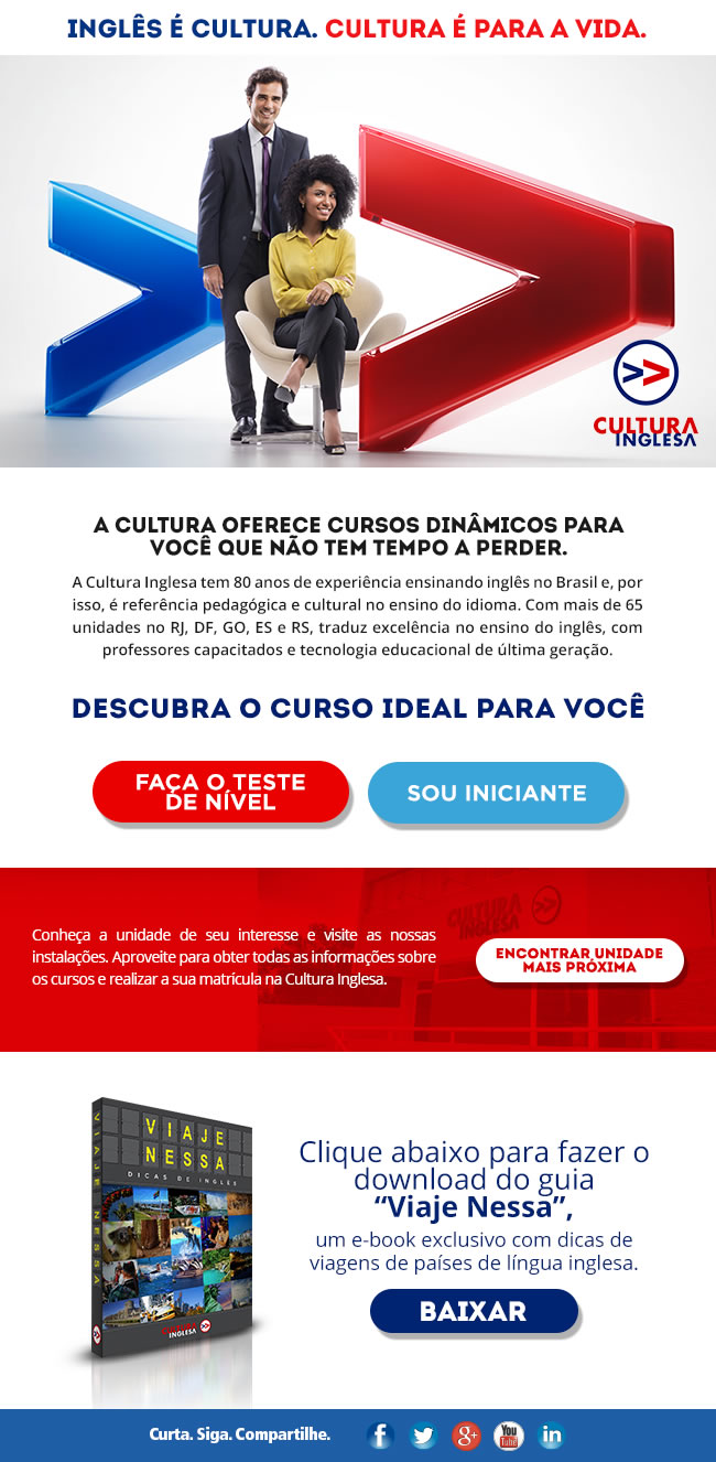 E-Mail Marketing Cultura Inglesa